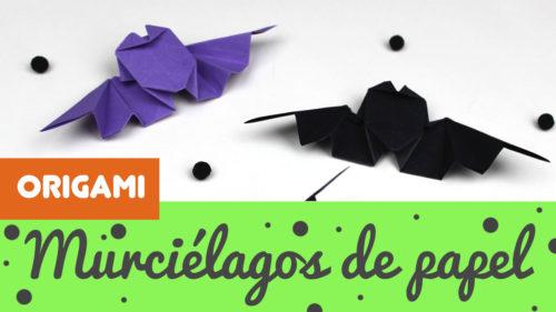 murcielago de origami