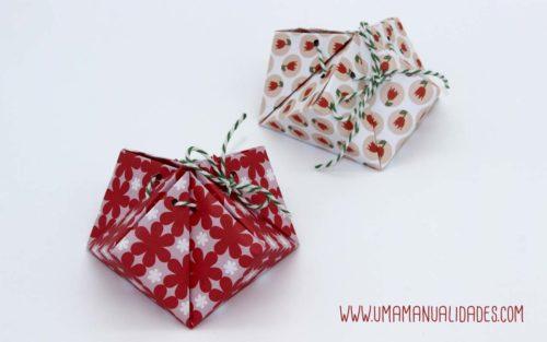bolsas de origami