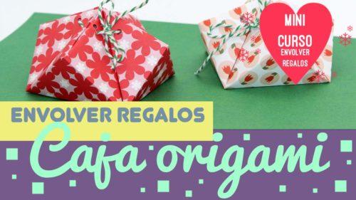 Cajas de origami