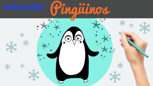 Aprender a dibujar un pinguino