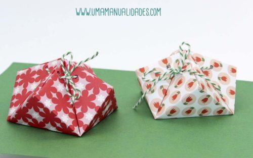 como hacer cajitas de origami