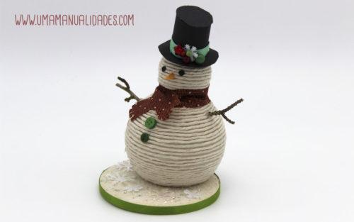 muñeco de nieve menuaidades