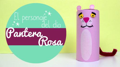 Manualidades de la pantera rosa