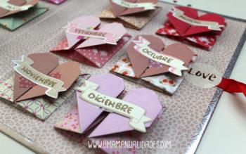 Manualidades de San Valentín de papel