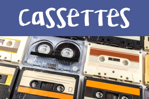 Manualidades con Cassettes