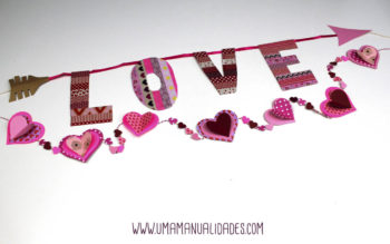 Manualidades de san Valentín para niños de preescolar