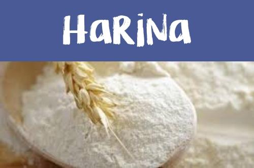 Manualidades con Harina