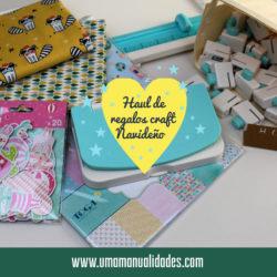 Haul de productos de manualidades