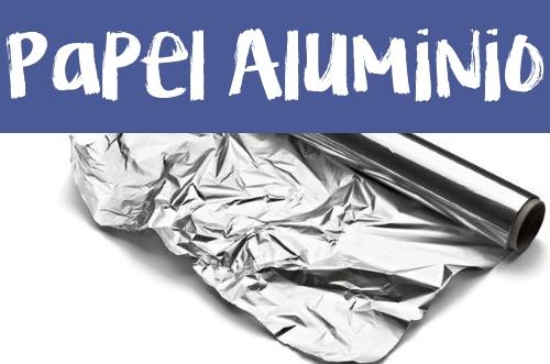 Manualidades con Papel Aluminio