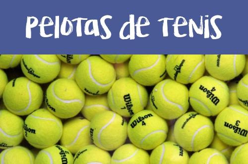 Manualidades con pelotas y botes de tenis