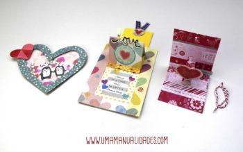 Manualidades de San Valentín de papel Para Regalar