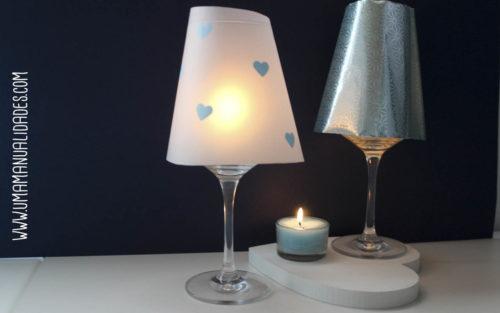 lamparas cena romantica