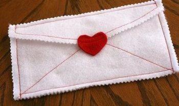 Manualidades con fieltro para san Valentín