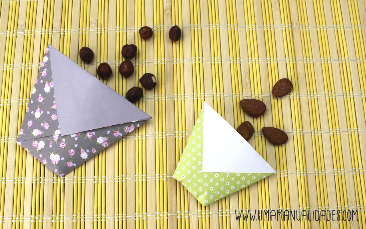 Bolsitas origami