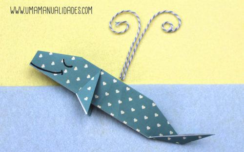 ballena origami
