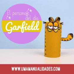 manualidades de Garfield