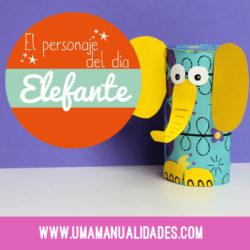 Manualidades de elefantes