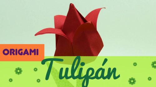 tulipan origami