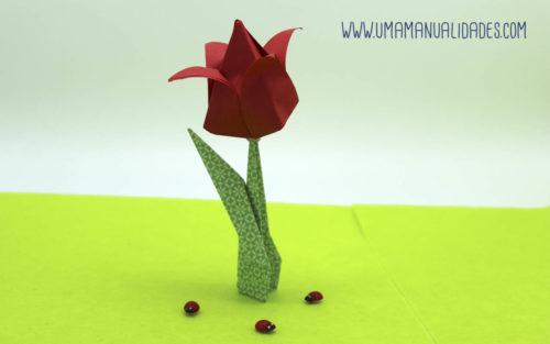 tulipan de papel