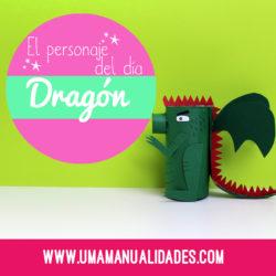 manualidades de dragones de sant jordi