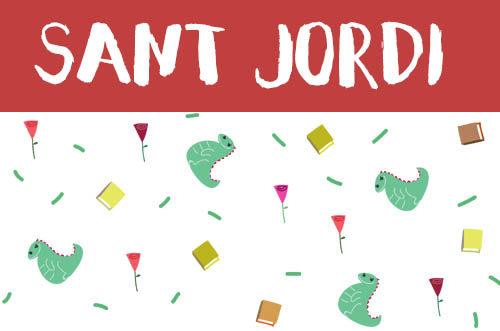 Manualidades de sant jordi