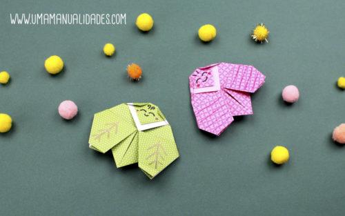 bichos origami