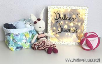 Manualidades para decorar una habitación de bebe