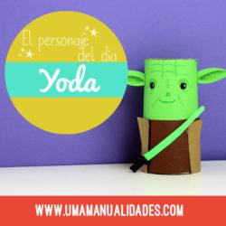 Manualidades de Yoda de Star Wars