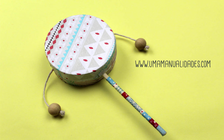 instrumento de musica casero