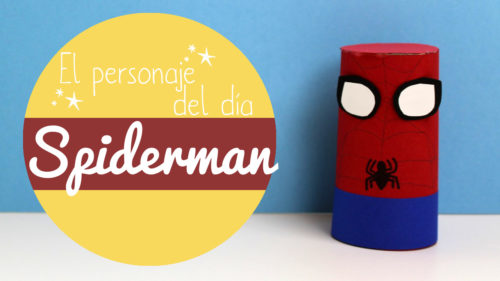 Manualidades de Spiderman