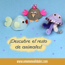 Animales con hueveras