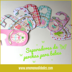 Separador de ropa para bebés