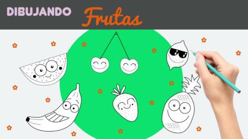 Aprender a dibujar frutas kawaii paso a paso