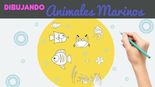 Cómo dibujar peces marinos