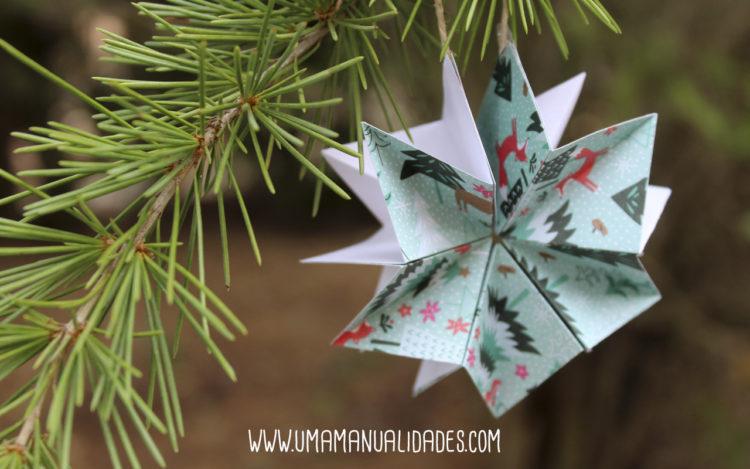 estrella navidad manualidad