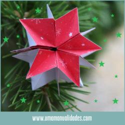 Cómo hacer Estrellas de Navidad de papel