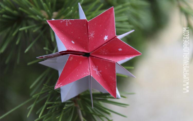 manualidades de estrellas de navidades