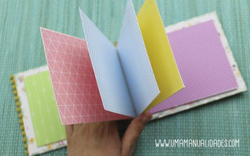 Manualidades con papeles de colores