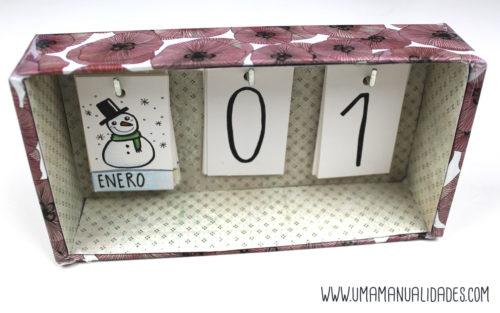 manualidades de calendarios