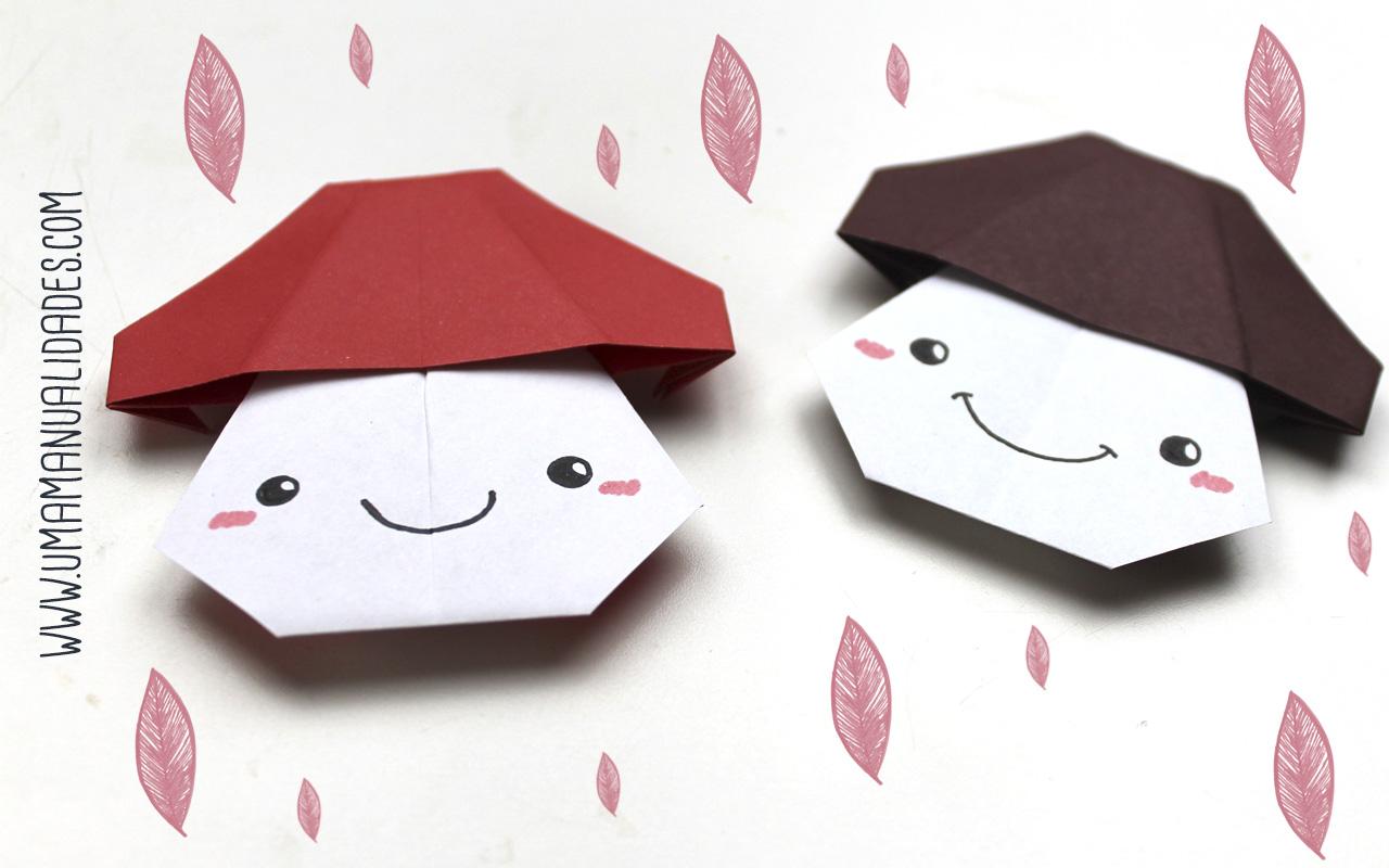 como hacer setas de origami