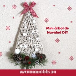 Cómo hacer un Mini arbol de navidad de cartón