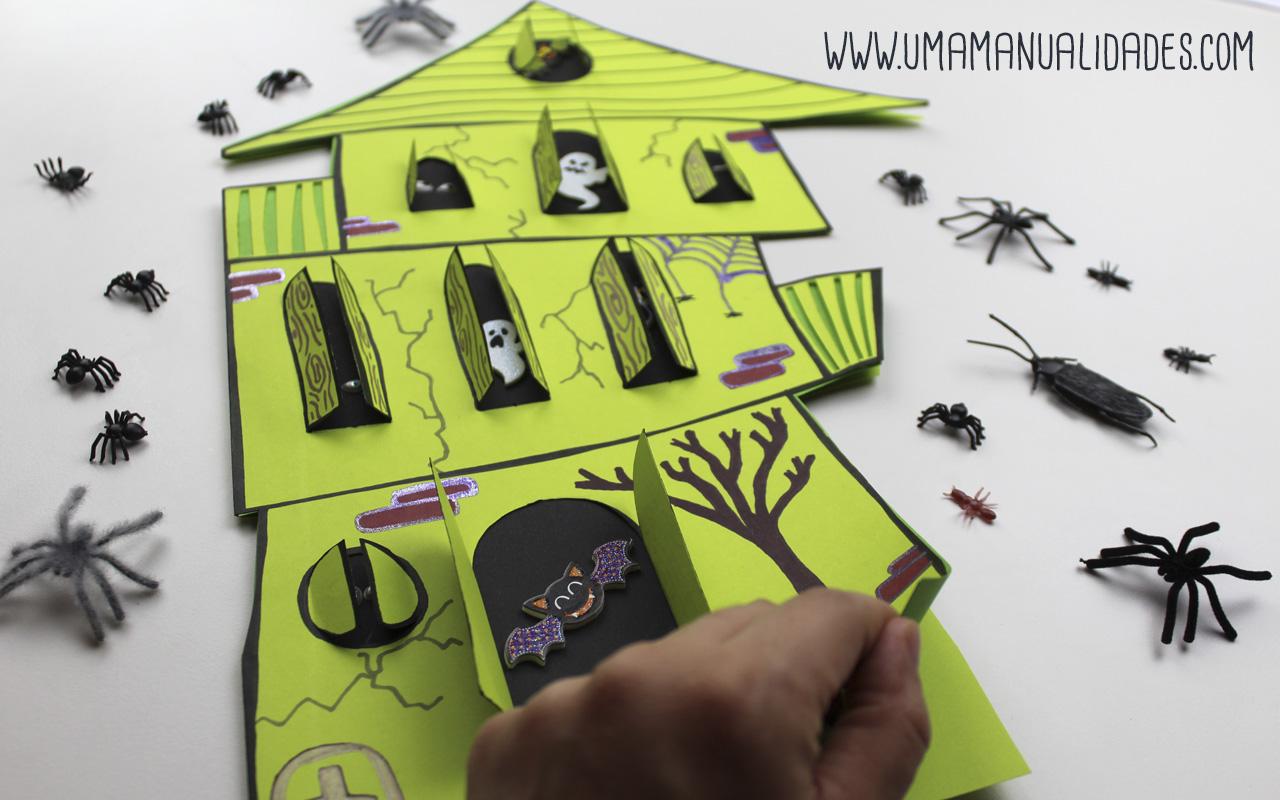 como hacer tarjetas de halloween terroríficas