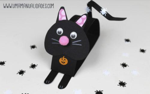 como hacer un gatito de papel