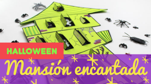 Tarjeta de halloween terrorífica