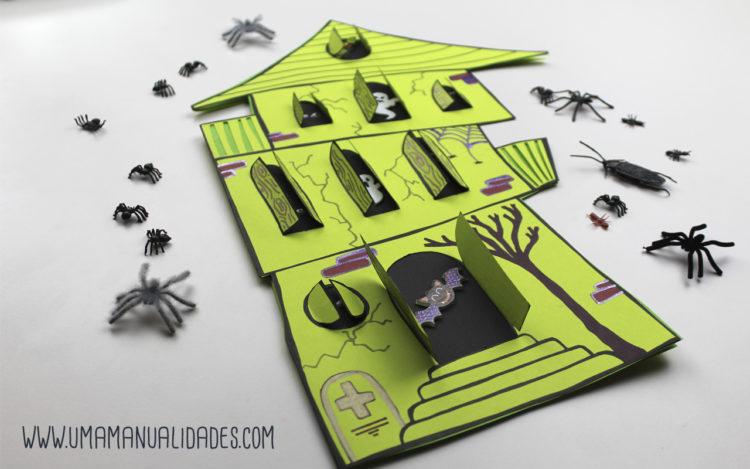 tutorial de tarjetas de halloween