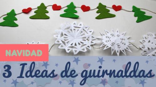 Cómo hacer guirnaldas navideñas paso a paso