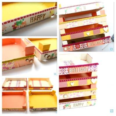 Manualidades con cajas de fruta
