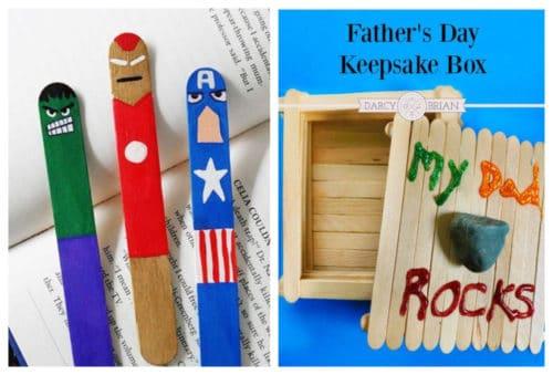 Manualidades para el Día del Padre con material reciclable