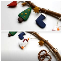 Ideas con FIMO para Navidad