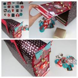Manualidades cajas navideñas